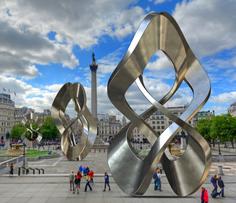 London England _ Trafalgar Square