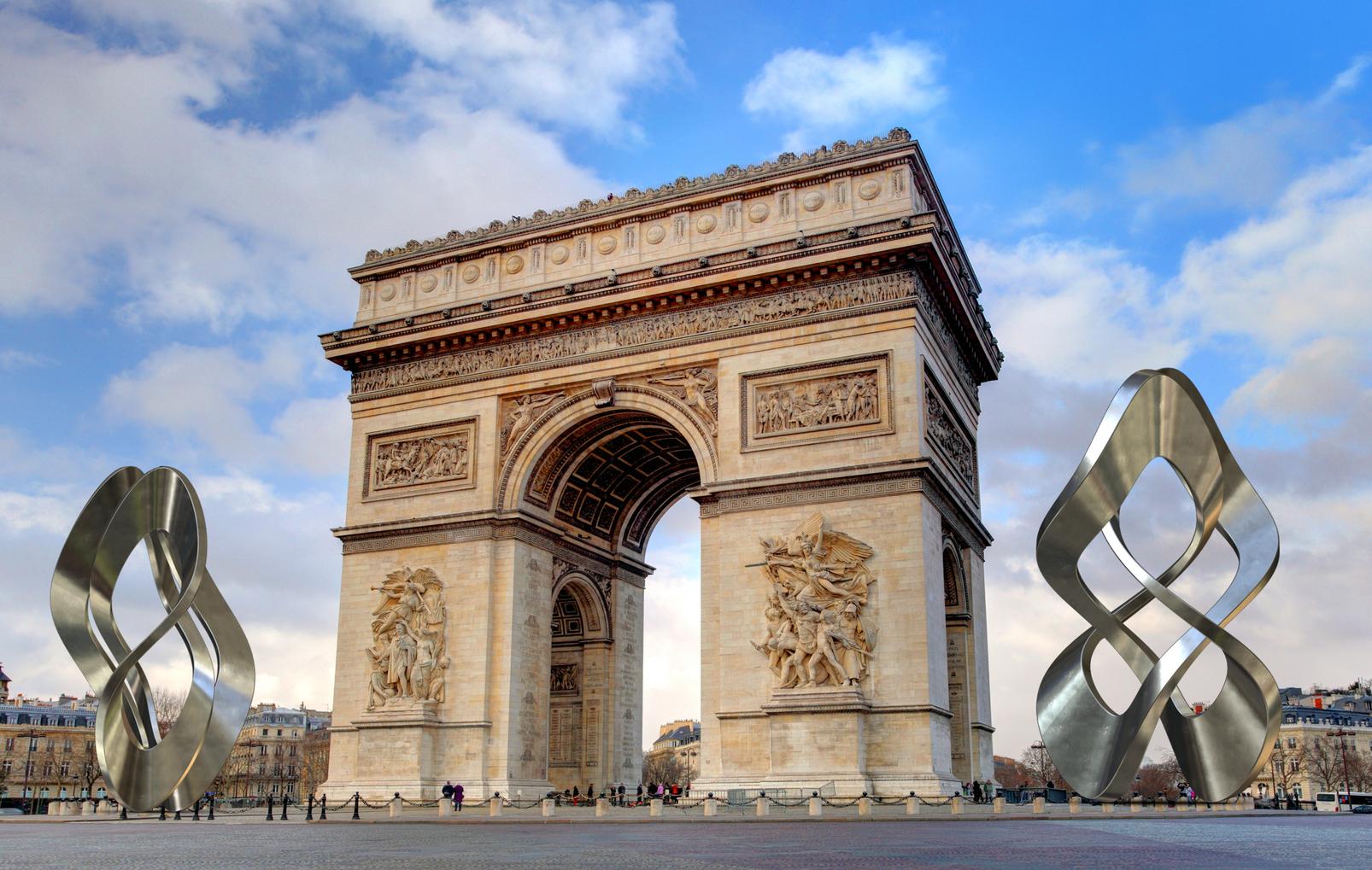 Paris France | Arc de Triomphe