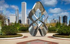 Chicago, USA Clarence Buckingham Memoria