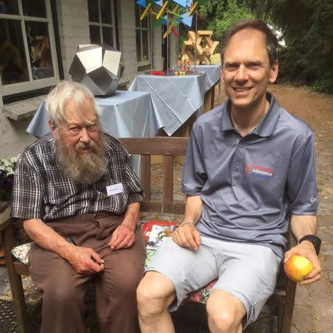 Koos and Tom Verhoeff