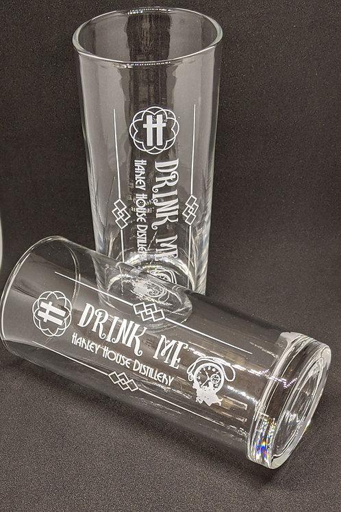 Drink Me 11.5oz hi-ball glass