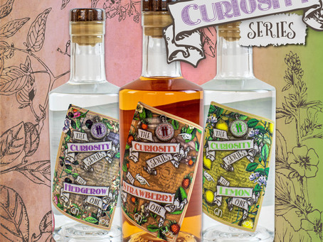 Introducing The Curiosity Series- our botanical gin range!