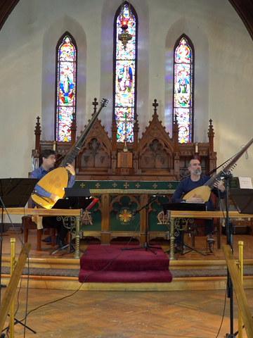 La Chamaille, Musique baroque