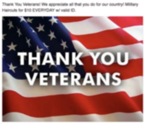 Veterans Special