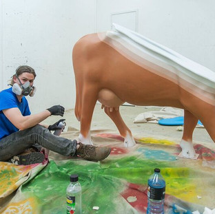 Studio for Cow Parade 2016