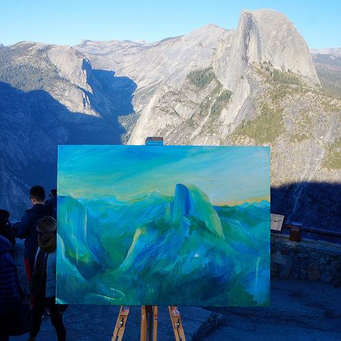 Glacier Point Print