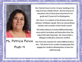 Meet Ms. Ponce