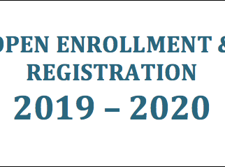 OPEN ENROLLMENT & REGISTRATION