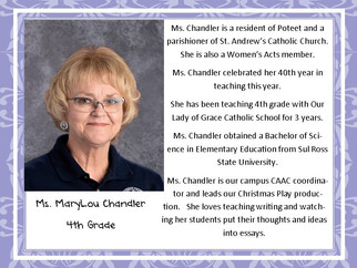 Meet Mrs. Chandler