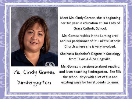 Meet Mrs. Gomez