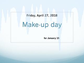 Make- up day
