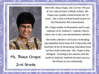 Meet Mrs. Chapa