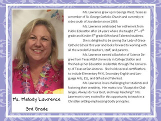 Meet Mrs. Lawrence