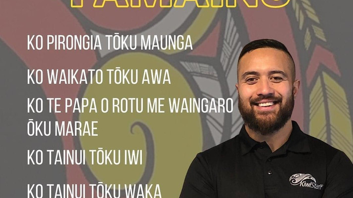 Meet Mainu Huirama – part of the Humans of NZ Recruitment project