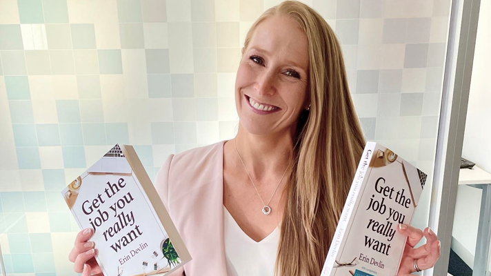Meet the author of 'Get the job you really want' and RCSA board director Erin Devlin