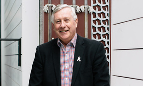 Peter McLaren honoured with community award