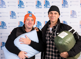 RCSA leaders take on homelessness