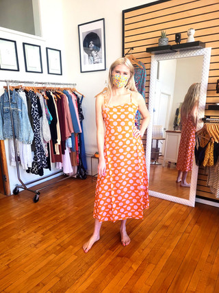 Orange and Pink Creamsicle Dress