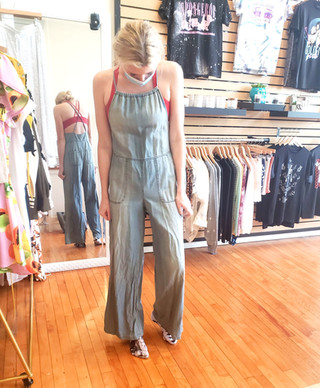 Sustainable Free People Coverall