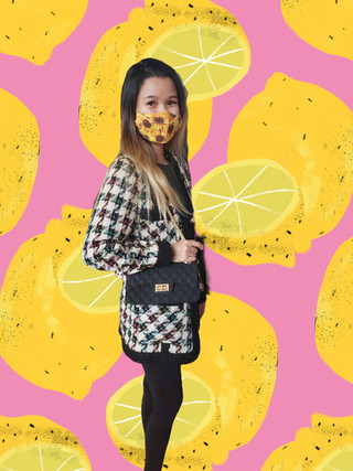 Pretty Is Contagious Sustainable Blazer and Silicone Purse