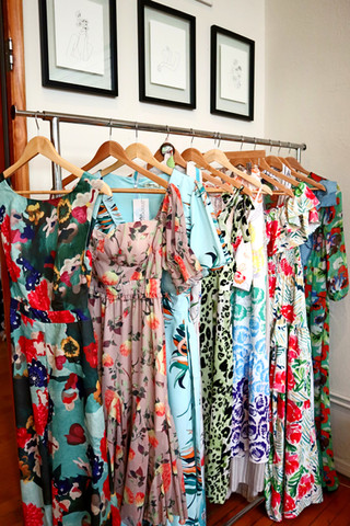 Long Dresses and Rompers