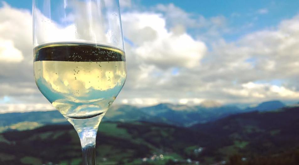 Champagne med udsigt over Cantabrien