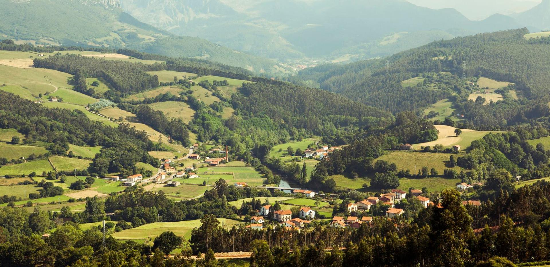 udsigt over Cantabrien