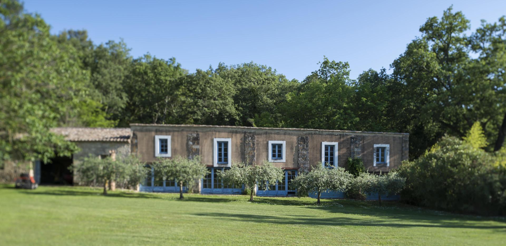 MAS DES OULES_Vue Jardin 2_garden View 2