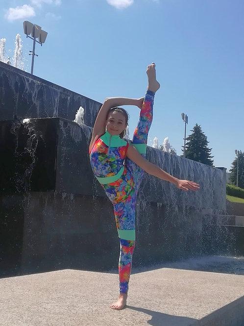 """Комбинезон гимнастический """"Малена"""""""