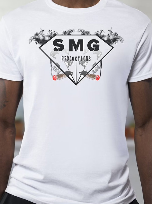SMG White Diamond T-Shirt