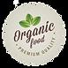 Organic Food Badge 7