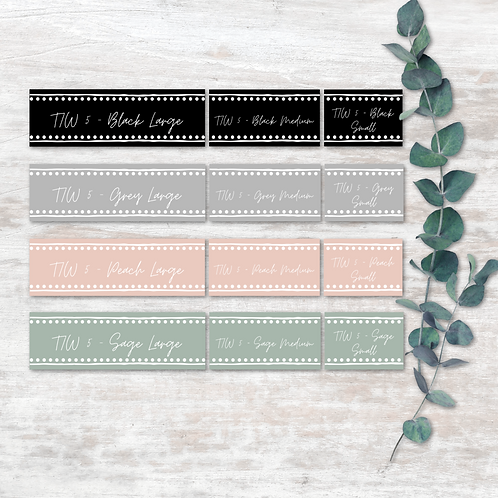 Tupperware Labels - Design 5