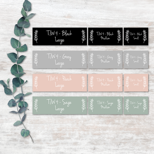 Tupperware Labels - Design 4
