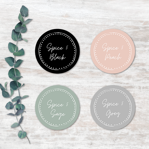 Spice Labels - Design 5