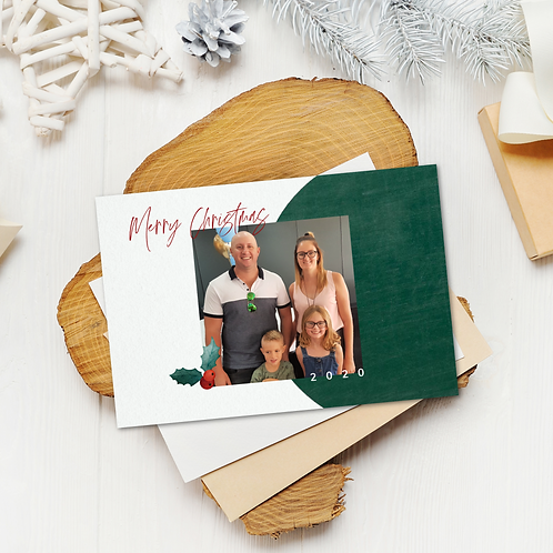Christmas Card Green