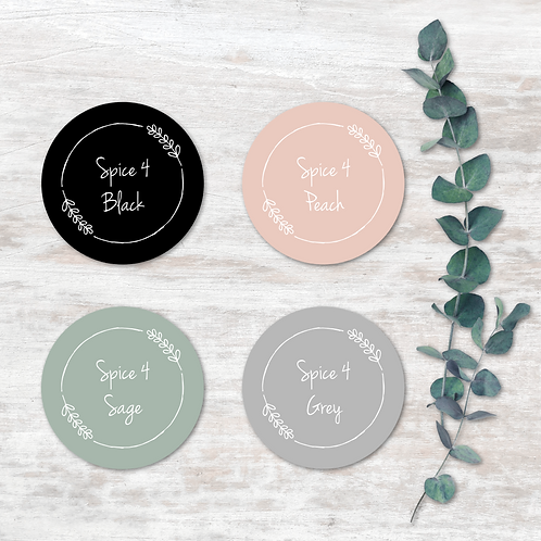 Spice Labels - Design 4