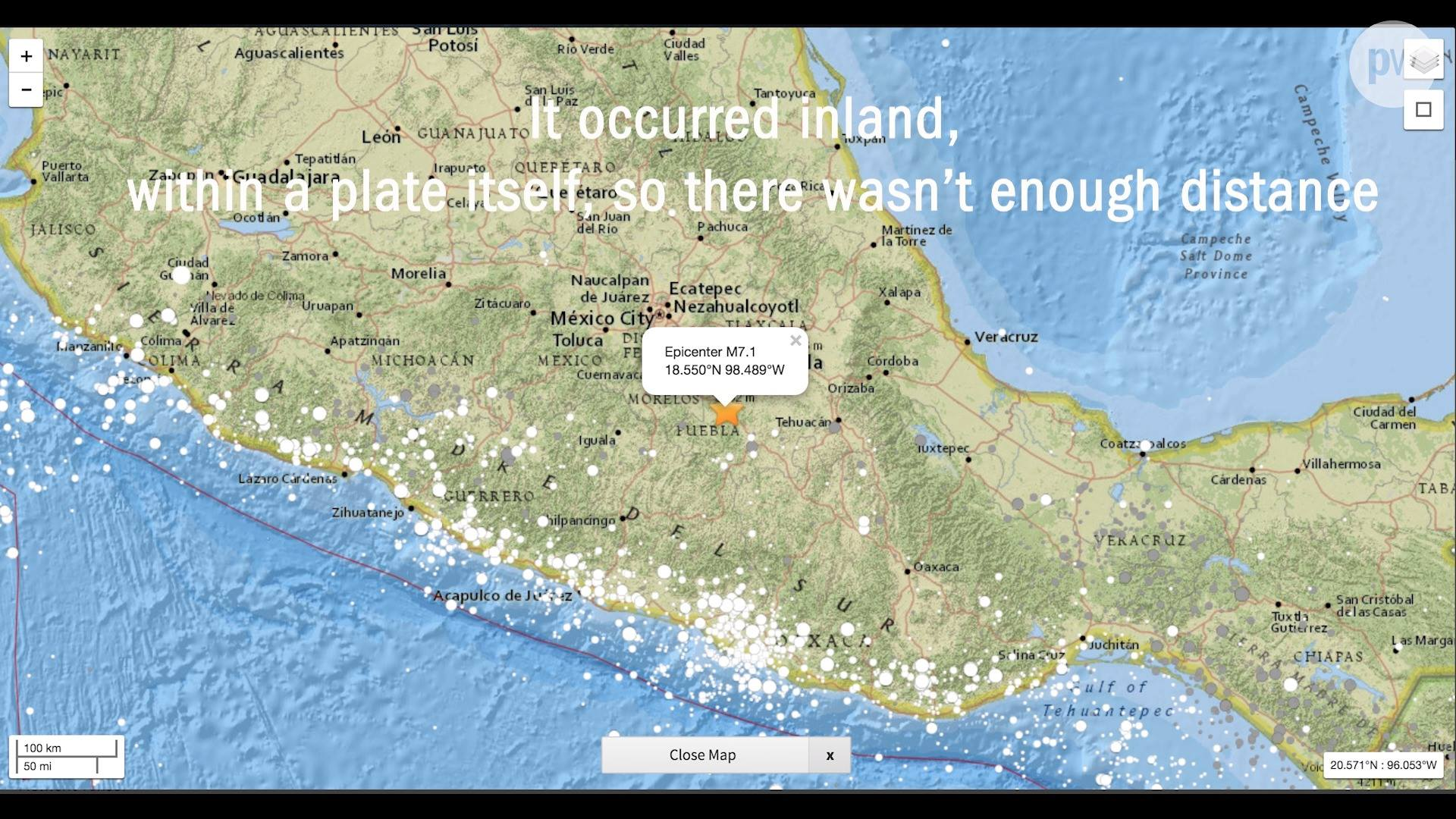 19 September 2017 Central Mexico earthquake explained