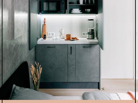 Как спрятать кухню в интерьере. Советы дизайнера