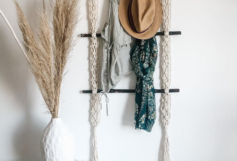 Macrame Wall Hanging Ladder - KH-1