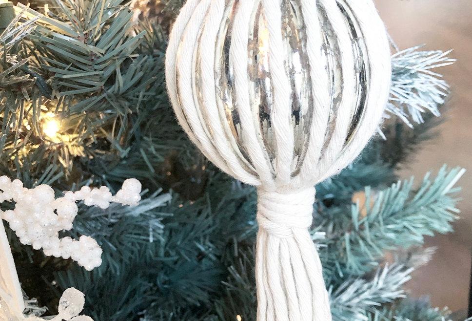 Macrame Tree Ornament - KH-21