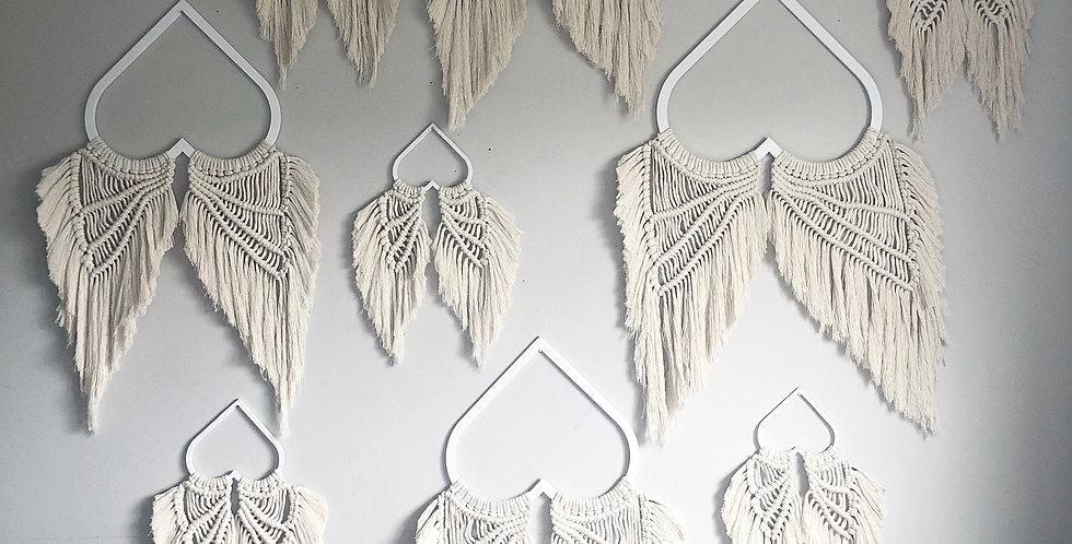 Macrame Angel Wings Hanging - KH-73N