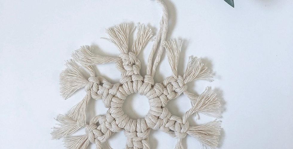 Macrame Tree Ornament - KH-11