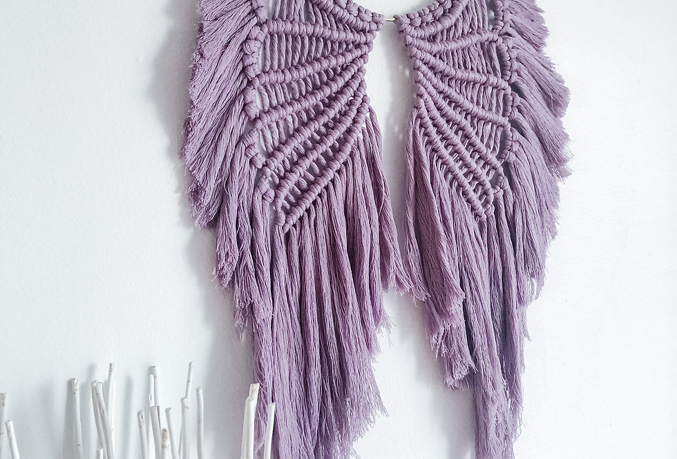 Macrame Angel Wings Hanging - KH-75