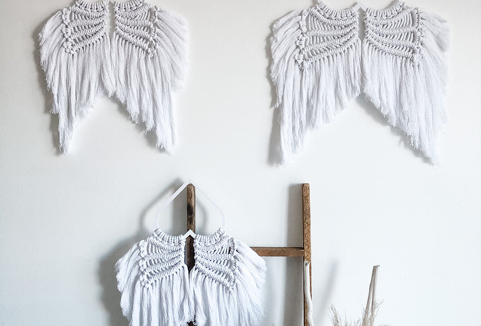Macrame Angel Wings Hanging - KH-78