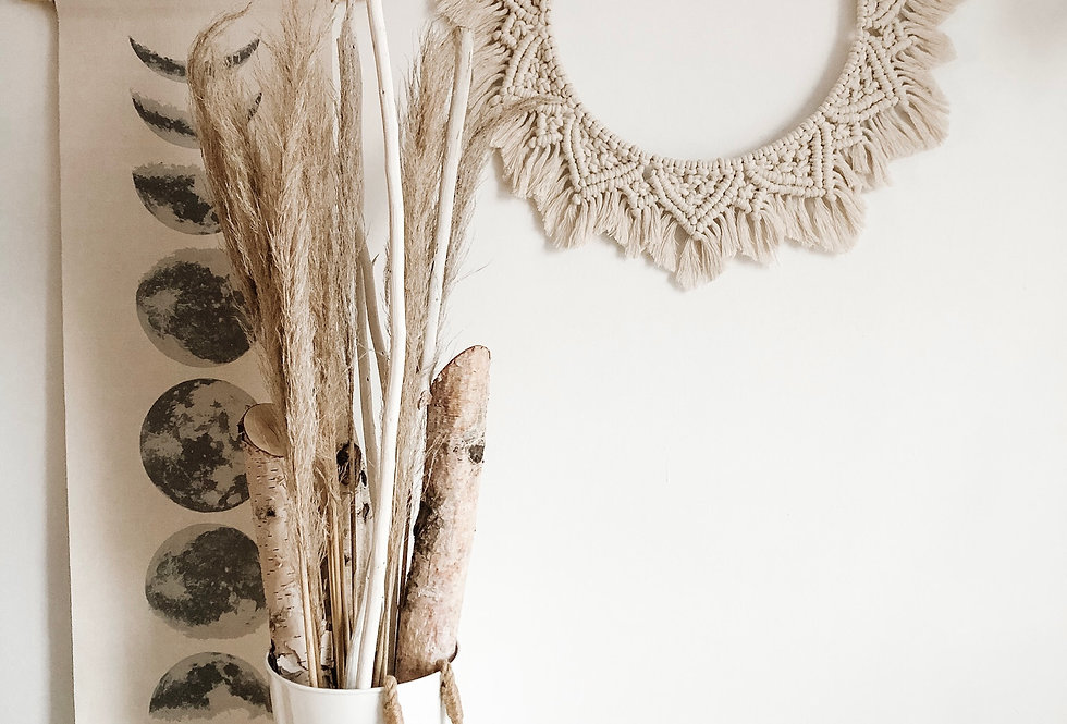 Macrame Mandala Hanging/Table Decor