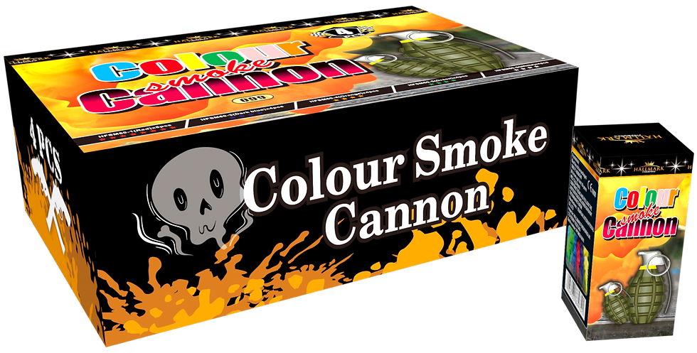 COLOUR SMOKE CANNON
