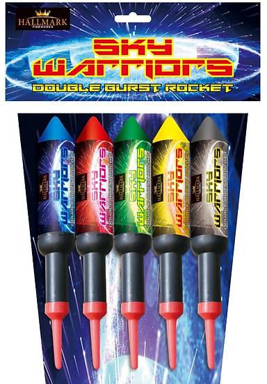 SKY WARRIORS ROCKETS