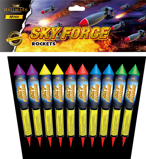 SKY FORCE ROCKETS