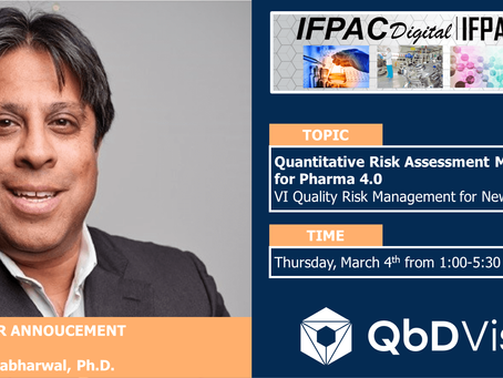 Collaborating on Quality Risk Management for New Drugs at IFPAC 2021