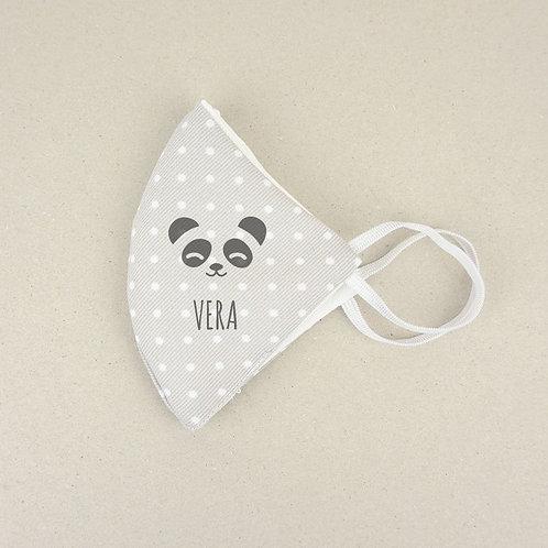 Mascarilla Higiénica reutilizable Personalizada Panda